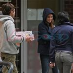 Kristen Stewart with Nikki Reed, Paris Latsis, and Elizabeth Reaser in Vancouver 46384