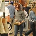 Kristen the other day picking up some salad lunch with her bestie Nikki Reed 28444