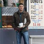 Jensen Ackles and Jared Padalecki shoot Supernatural in Vancouver December 2010 74630
