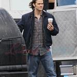 Jensen Ackles and Jared Padalecki shoot Supernatural in Vancouver December 2010 74635