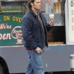 Jensen Ackles and Jared Padalecki shoot Supernatural in Vancouver December 2010 74636