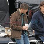 Jensen Ackles and Jared Padalecki shoot Supernatural in Vancouver December 2010 74637