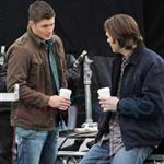 Jensen Ackles and Jared Padalecki shoot Supernatural in Vancouver December 2010 74645