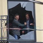 Jensen Ackles Jared Padalecki work on Supernatural in Vancouver 66891