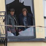 Jensen Ackles Jared Padalecki work on Supernatural in Vancouver 66893