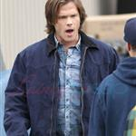 Jensen Ackles Jared Padalecki work on Supernatural in Vancouver 66896