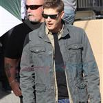 Jensen Ackles Jared Padalecki work on Supernatural in Vancouver 66906