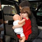 Tom Cruise and Katie Holmes take daughter Suri to see Hairspray in New York 20382