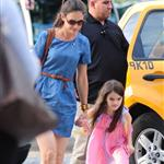 Katie Holmes out in New York with Suri 120237