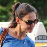 Katie Holmes out in New York with Suri 120241