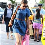 Katie Holmes out in New York with Suri 120242
