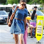 Katie Holmes out in New York with Suri 120243