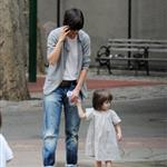 Katie Holmes takes Suri to play in a New York park 23282