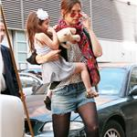 Katie Holmes and Suri out in New York over Easter weekend 58117