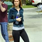 Hilary Swank in sweat clothes 57591