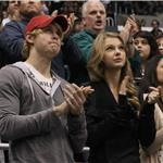Taylor Swift and Chord Overstreet attend LA Kings game together  79948