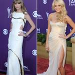 Taylor Swift/Carrie Underwood at the 2012 ACM Awards 110318