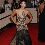 Jessica Szohr poses hard at the Costume Institute Gala 2010  60170
