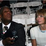Andre Leon Talley and Anna Wintour 63705