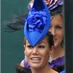 Tara Palmer-Tomkinson arrives for the Royal Wedding  84015