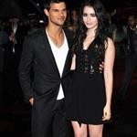 Taylor Lautner and Lily Collins at the UK premiere of Abduction in London 95029