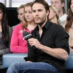 Taylor Kitsch appears on MuchMusic NEW.MUSIC.LIVE show in Toronto  108392