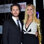 Taylor Kitsch and Brooklyn Decker at the Australian premiere of Battleship 111206