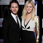 Taylor Kitsch and Brooklyn Decker at the Australian premiere of Battleship 111208