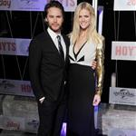 Taylor Kitsch and Brooklyn Decker at the Australian premiere of Battleship 111209