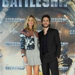 Taylor Kitsch and Brooklyn Decker attend 'Battleship' Photocall at Altonaer Kaispeicher in Germany 109659