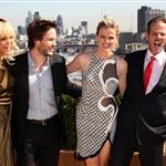 Taylor Kitsch at the Battleship photocall in London with Rihanna, Brooklyn Decker, and Peter Berg 109946