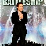 Taylor Kitsch at theBattleship photocall held at Villamagna Hotel in Madrid, Spain 110204