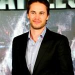 Taylor Kitsch at theBattleship photocall held at Villamagna Hotel in Madrid, Spain 110206