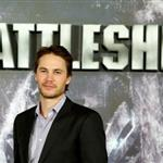 Taylor Kitsch at theBattleship photocall held at Villamagna Hotel in Madrid, Spain 110208