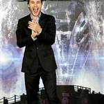 Taylor Kitsch at theBattleship photocall held at Villamagna Hotel in Madrid, Spain 110209