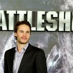 Taylor Kitsch at theBattleship photocall held at Villamagna Hotel in Madrid, Spain 110210