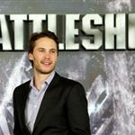 Taylor Kitsch at theBattleship photocall held at Villamagna Hotel in Madrid, Spain 110212