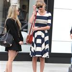 Taylor Swift out in Beverly Hills 112212