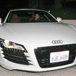 Taylor Lautner takes Taylor Swift out for dinner in his big boy sports car 49618