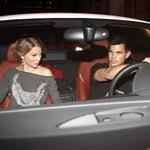 Taylor Lautner takes Taylor Swift out for dinner in his big boy sports car 49620