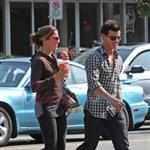 Nikki Reed and Taylor Lautner catch up in Vancouver before Eclipse  44213