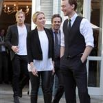 Chris Hemsworth, Scarlett Johansson, Mark Ruffalo and Tom Hiddleston attend 'The Avengers' photocall in Rome 112109