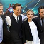 Chris Hemsworth, Scarlett Johansson, Mark Ruffalo and Tom Hiddleston attend 'The Avengers' photocall in Rome 112113