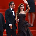 Angelina Jolie and Brad Pitt rule the red carpet at the Tree of Life Cannes premiere  85520