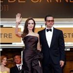 Angelina Jolie and Brad Pitt rule the red carpet at the Tree of Life Cannes premiere  85531