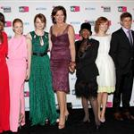 Viola Davis, Jessica Chastain, Emma Stone, Allison Janney, Cicely Tyson, Ahna O'Reilly, Chris Lowell and Octavia Spencer at the 2012 Annual Critics' Choice Awards  102602