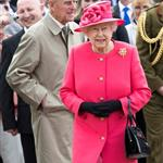 Queen Elizabeth II and Prince Philip visit Chester Zoo as part of her tour of the North West in Chester, England 114836