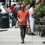 Thom Yorke of Radiohead out and about in New York City 116101
