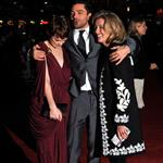 Emma Thompson with Carey Mulligan and Dominic Cooper at the 'An Education' premiere in London 50019