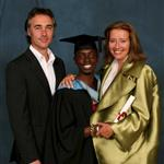 Emma Thompson's son Tindy graduates from university 43347